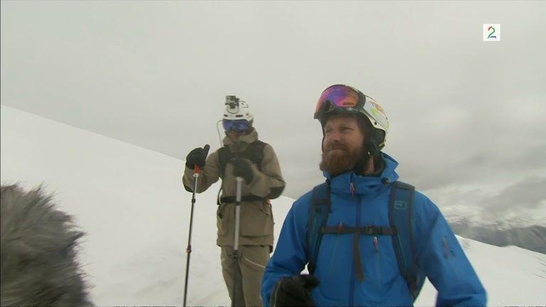Bli med på en heftig tur ned fra toppen av Roaldshorn