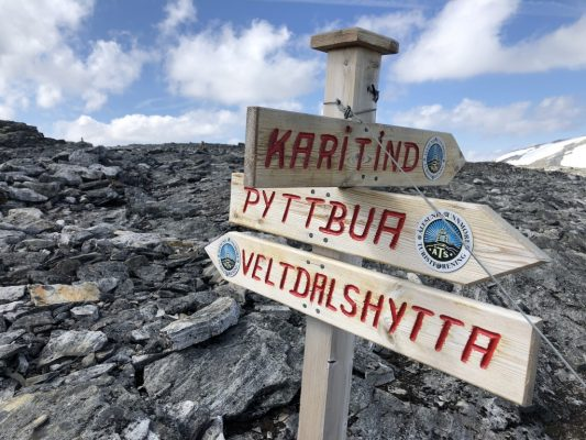 Veltdalshytta – Pyttbua 1746 moh. 19.07.2018