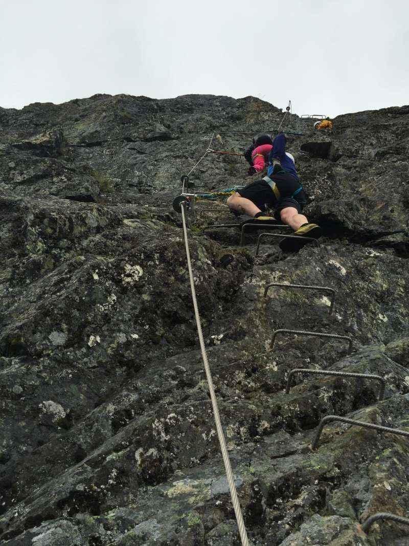 Synshorn – Via Ferrata 1450 moh. 29.07.16