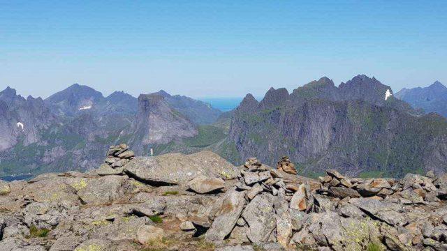 Munken 770 moh. 23.07.2017 (nordtoppen)