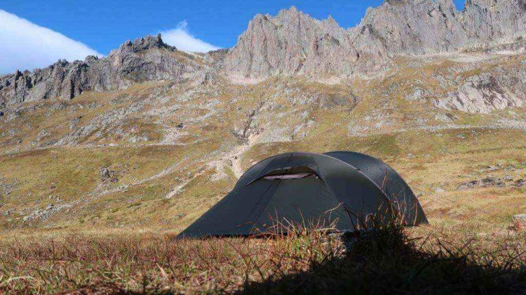 Telting i Molladalen