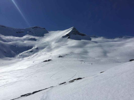 Langfjella 1118 moh.  01.05.2017
